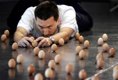 Про совету шефа запаслась яйцами