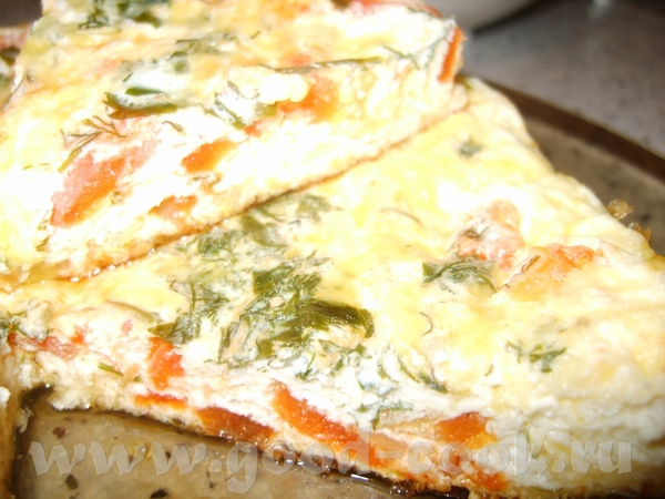 ОМЛЕТ -5 яиц; -2 помидора; -сыр -1/2 луковицы -зелень (укроп, петрушка) - молоко (полстаканчика) со...