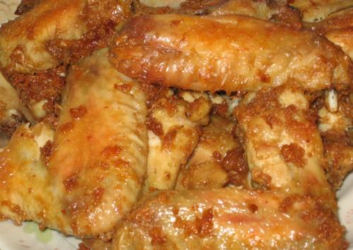 Куриные крылья в арахисовой пасте - 2