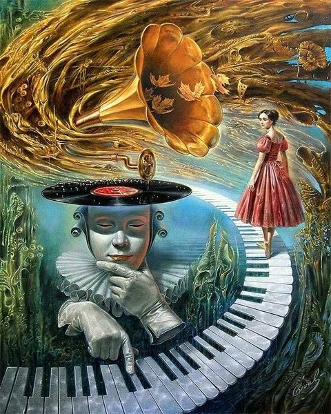 А вот такое как Михаил Хохлачев ============ Реальность, изысканное ощущение мира, богатая фантазия - 4