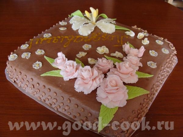 Чем украсить торт в домашних условиях фото пошагово