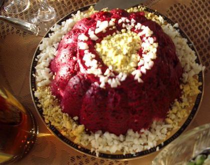 селедочная шуба салат с крабовыми палочками и креветками от Ayn с КТ