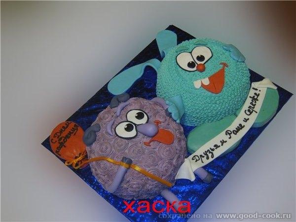 Вот мои два последних торта