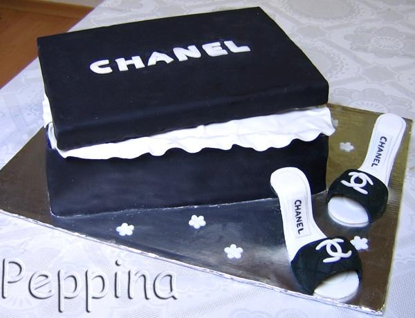 Фотогалерея mama.tomsk.ru - ?деи оформления тортов (для взрослых)/chanel.