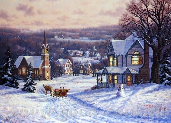 Очень xороший подарок дочкам вы сделали Это художник Джим Уоррен- Jim Warren ======================... - 6