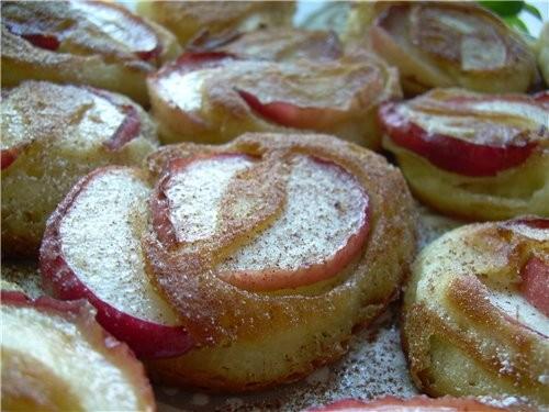"""Хочу напомнить еще один рецепт , это Оладушки для завтрака """"Яблочные дольки"""" - 2"""