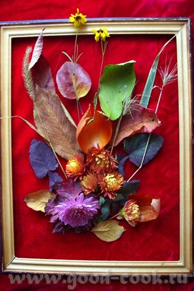 Осенний нетюрморт,15 на 25: Коробка от конфет,шпатлевка: Пластилин,15 на 20: Пластилин,15 на 20: Пл...