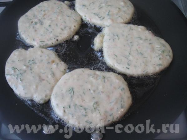 Тесто не должно быть слишком жидким Далее жарим, как обычные оладьи на растительном масле - 2