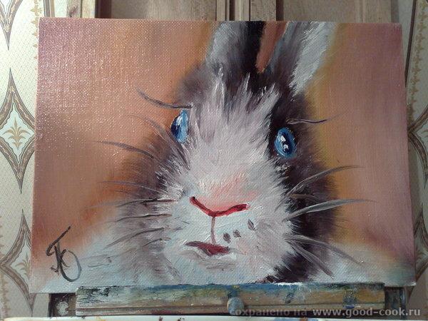 это к новому году рисовала кроликов ну и киски для настроения