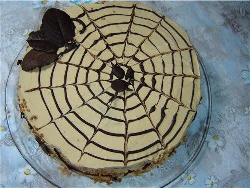 Простой рецепт торт с фруктами