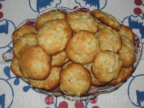 """Девуленьки,угощайтесь яблочными печенюшками , рецепт на """"Хлебной ветке"""""""