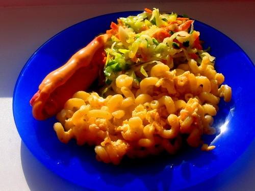Девочки сегодня у нас опять скромный ужин: борщок вегетарианский с чесночком на второе на выбор: ма... - 2