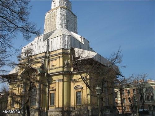 Это здание великокняжеской усыпальницы (1896-1908