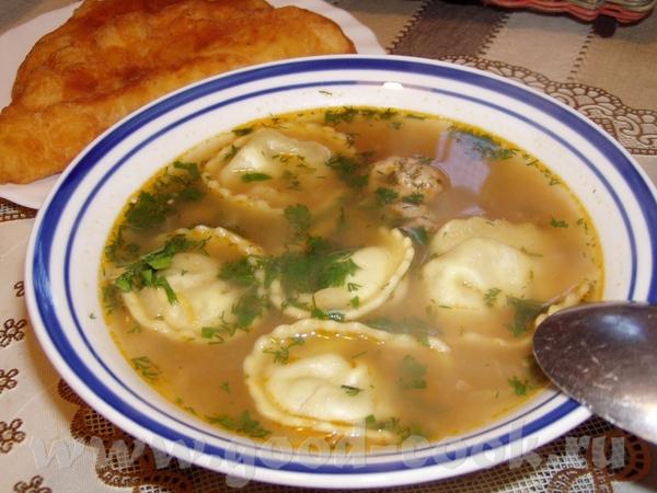 Рыбный суп с фрикадельками Суп с овощами Быстрый суп с фасолью и брокколи Угра-чучвара(узбекский су... - 4