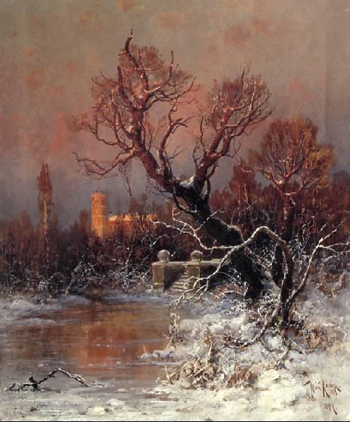 Юлий Клевер - русский живописец - 9