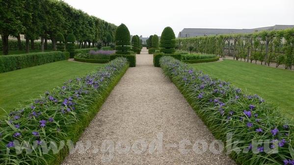 Но самым примечательным в данном замке был сад - 8