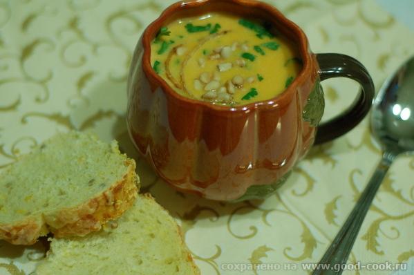 Еще один вкусный суп из тыквы в копилку рецептов форума