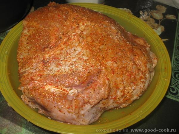 СВИНИНА, ЗАПЕЧЕННАЯ В ЛУКОВОЙ ПОДЛИВЕ (Ультраплюс) Очень вкусное и сочное мясо в луковой подливе - 3