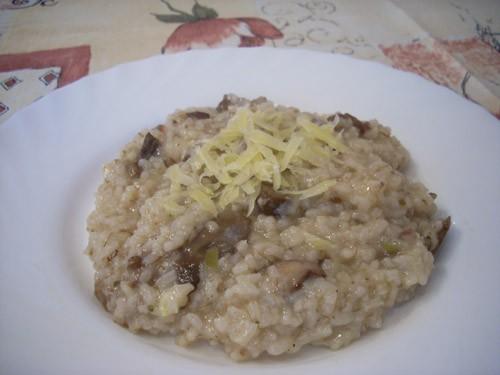 Классический тайский жареный рис Ризотто с лесными грибами Ризотто с копчёной рыбой и пореем Ризотт... - 2