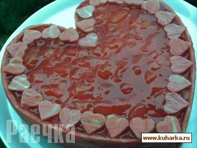 """А теперь по поводу """"Сердца"""" Хотела приготовить вот такой тортик Рецепт от Milla ЗДЕСЬ От меня: Так... - 2"""