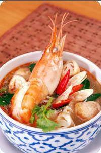 Суп из морепродуктов (Sup tom cua) Суп из морепродуктов полезен для печени - 2