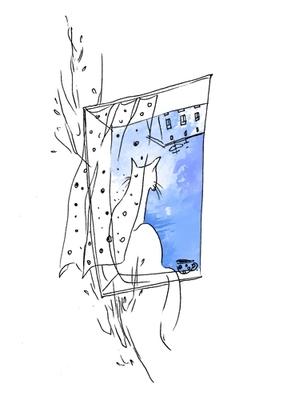 2 августа День сидения на подоконниках Пусть восславятся архитекторы домов с широкими подоконниками...