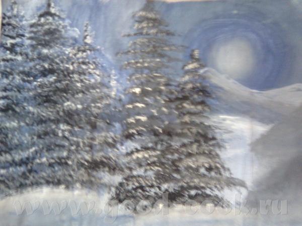 моя первая в жизни картина: Моя вторая картина: Моя третья картина: ВСЁ НАРИСОВАНО ГУАШЬЮ НА ЛИСТЕ... - 3