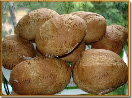 Датские булочки Салат с креветками Пшенично-ржаные булочки - 3