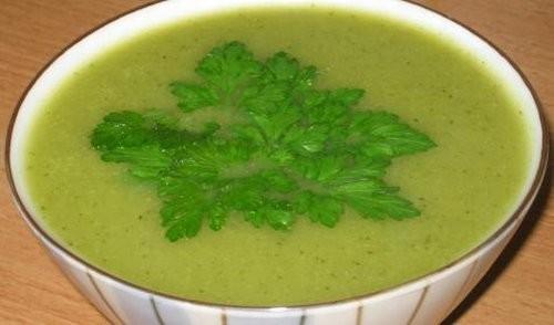 Сегодня на обед готовила суп-пюре из цуккини по рецепту от Татьяны Брихин (на форуме - Tatiana) с г...