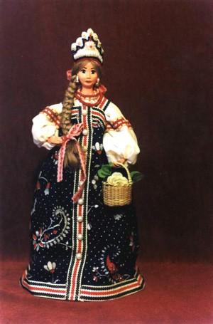 Украинка - Киевская обл, 18 век Русский народный костюм - Московская обл Ну а это самый большой на... - 2