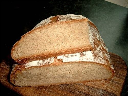Как этот хлеб должен выглядеть в оригинале не знаю, у меня такой вымученный вышел