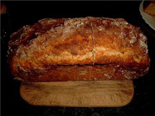 Вилена, раз уж пекла, решила сфотографировать и хлеб, у меня опять получилось(только корочка пережа... - 3