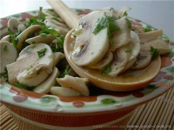 Маринованные шампиньоны / Funghi marinate