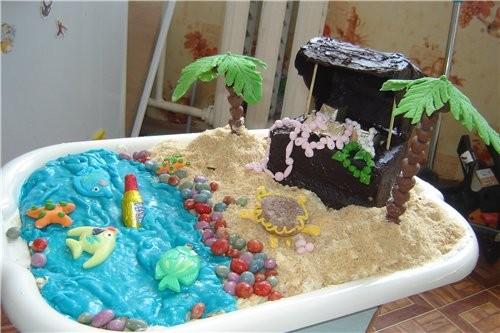это тортик остров сокровищ