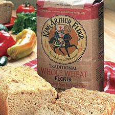 цельнозерновая пшеничная мука - Whole Wheat Flour ржаная мука - Rye Flour