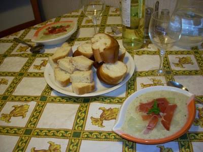 Сенегальский суп из курицы с яблоками и сельдереем Суп-пюре из кольраби Куриный суп-пюре с яблоком... - 2