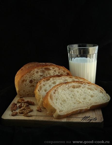 Итальянский хлеб ЖЖ Людмилы рецептна 2 хлеба или 6 хлебцев с моими небольшими изменениями выделенны...