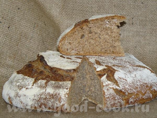 Я вчера чудесница-рукодельница пекла хлеб - аж три сорта, рецепты все были на закваске и лёгкие, по... - 2