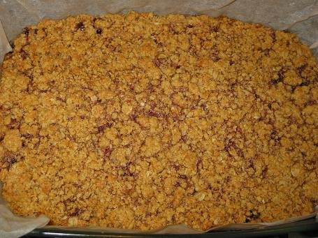 ПЕЧЕНЬЕ ОВСЯНЫЕ КВАДРАТИКИ С ДЖЕМОМ рецепт от Мишель,печенье очень вкусное,напоминает халву необход... - 2