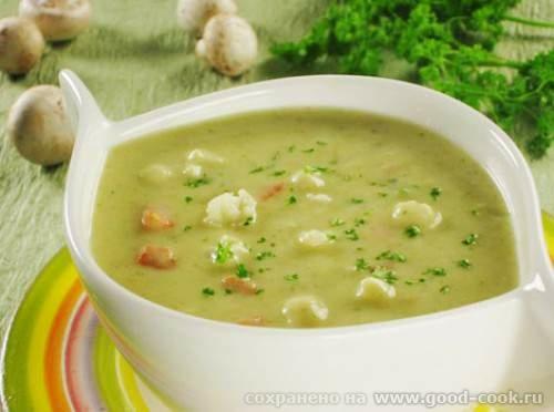 Супы-пюре. Рецепты супов-пюре