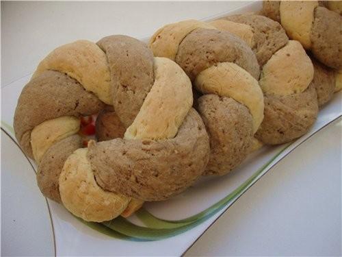 Двухцветное печенье 100 грамм маргарина (масла) 100 грамм сахара 2 яйца 0,5 чайной ложки соды 1 чай...
