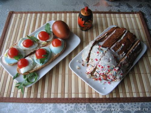 бутерброды-кулич