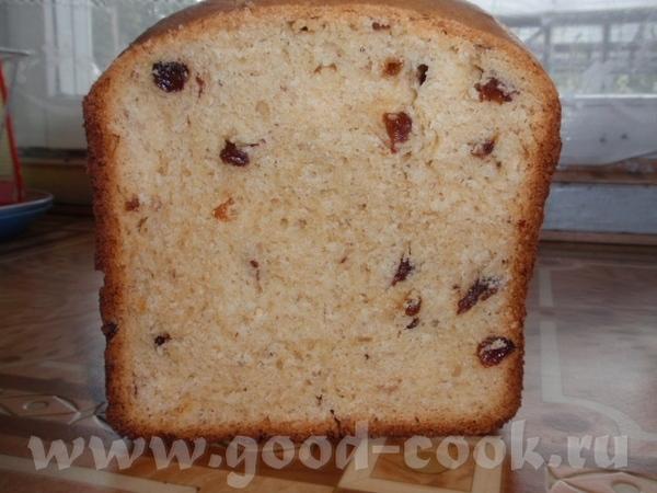 """Пекла """"Сдобный хлеб с изюмом"""" рецепт из инструкции к Мулинекс 2 - 2"""