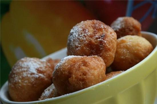 Пончики с ванилью (17-20 шт) 2 ст