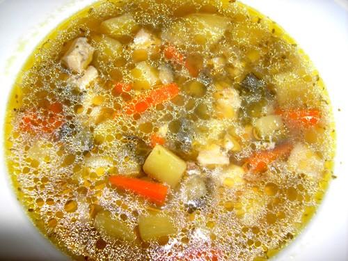 Продолжаем кормить себя и своих близких У нас вчера был рыбный суп с баклажанами, необычное сочетан...