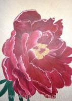 Уроки по рисованию рисуем акрилом Рисуем утренний прибой рисуем пейзаж Урок акрилом