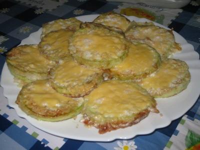 Кабачки, запеченные с сыром Приятного аппетита