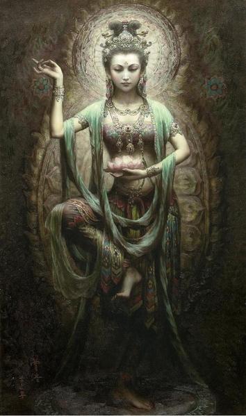 Солянка из китайской живописи, Индии и Египта - 3