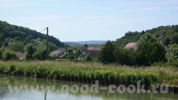 А это мы уже покинули Дуб и находимся на Canal du Rhфne au Rhin - канале между Роной и Рейном - 3