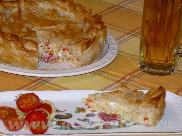 Хорватский пирог-бурек с картошкой и фетой - Burek mit Kartoffel-Feta-Fьllung
